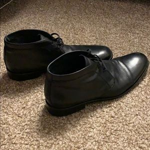 Banana Republic Dress Black Desert Boots